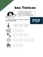 Silabas-Tonicas