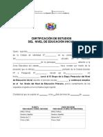contancias pdf de certificacion de inicial