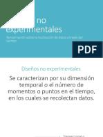 Diseños no experimentales.pptx