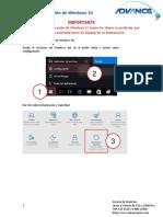 Manual de Recuperación de Windows 10