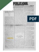 Jornal O Publicador - 5 Outubro 1866 - Página 1