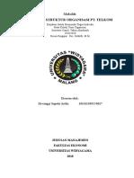 Analisis Struktur Organisasi Telkom