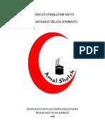 PANDUAN PEMILIHAN INDIKATOR MUTU RSI JBG.doc