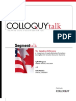 2007 COLLOQUY Segment Talk Canada