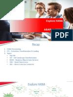 1. ABAP on HANA - Introduction
