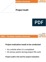 Session 19 05.4.19 Project Audit
