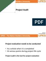 Session 19 05.4.19 Project Audit