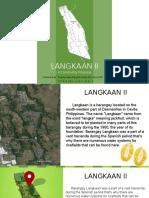 Langkaan II Community Profiling.pptx