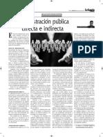 Administración Pública Directa e Indirecta - Autor José María Pacori Cari