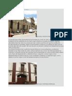 Edificios Historicos Huehuetenango