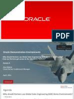 GSE DSA Value Prop + OPN Process for Demo Environments - v4