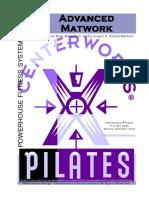 Pilates Advanced Matwork