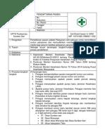 7.1.1.3 SOP Pendaftaran Pasien Baru