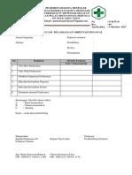 laporan evaluasi orientasi