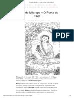 A Vida de Milarepa – O Poeta Do Tibet _ Sobre Budismo