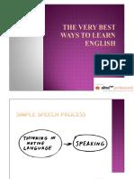 2. Speaking-1 Understanding Speech