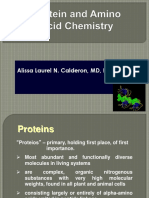 1Chemistry of Protein and Amino Acid