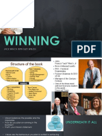 Resume of Winning by Jack Welch