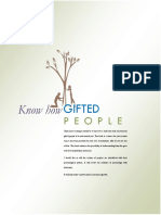Know how Gifted People