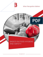 Basic Food Hygien and Safety