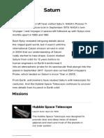 Exploration _ Saturn – NASA Solar System Exploration184341