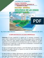 Cap x Acción Geológica de Aguas Superficiales..