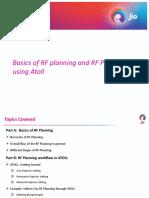 LTE ATOL RF plannning
