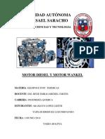 Motores Diesel y Motor Wankel 296