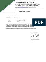 Surat Bersedia Ditugaskan