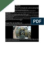 Setel PilotJet Dan MainJet