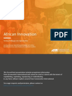 African Innovation Euromonitor