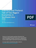 Indonesia and Thailand - Tale of Two Biggest Economies in Southeast Asia the Final