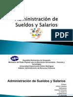 Diapositivas Administracion de Sueldo y Salarios