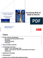 Bahrman Role of HVDC & FACTS