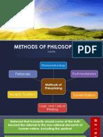 Methods of Philosophizing2 s