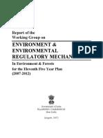 Environment regulatory mechanism