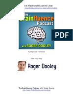 EP237- Brainfluence Podcast Transcript