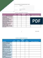 Building Assessment checklist