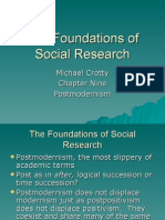 The Foundations of Social Research  Ch 9