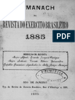 Almanaque Da Revista Do Exército Brasileiro - 1885