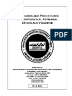 AMEA-Standards and Procedures of Proffesional Appraisal Ethics and Practice (2006)