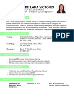 Resume Bcc