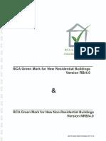 BCA Greenmark Calcualtion Guide