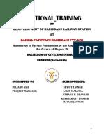 Bansal Training 1