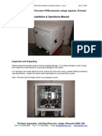 PPP VRp-20000-0230 Install Operate Manual