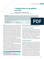Quantitative inspection on graphite length of grey iron