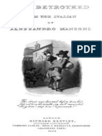 The Betrothed-Alessandro Manzoni (in one volume)