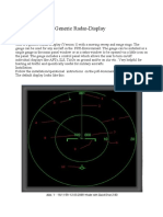 Radar instructions for night operations