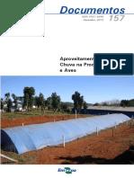 Aproveitamento Agua Da Chuva Na Produção de Suinos e Aves