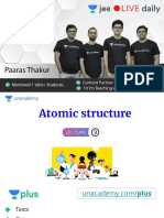 L9 - Atomic Structure